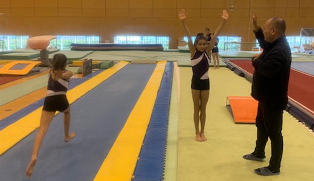 【スポーツ庁委託事業】JSC-JOC-NFによる西が丘ハイパフォーマンスセンター等を活用した連携プログラム(体操競技・モナコ)7