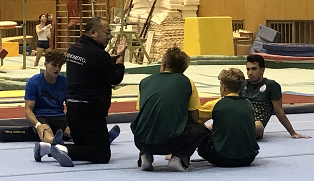 Japan Sports Agency Commissioned Project: JSC/JOC/NF Use Nishigaoka High Performance Center and Other Facilities for Collaboration Project (Gymnastics, South Africa)3