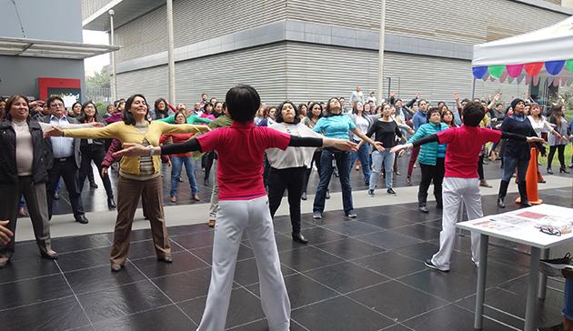 【スポーツ庁委託事業】ペルーにおけるラジオ体操の国際展開 11