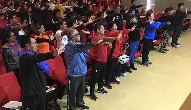 【スポーツ庁委託事業】ペルーにおけるラジオ体操の国際展開 13