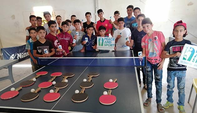 ITTF-ニッタクドリームビルディング難民支援プロジェクト1