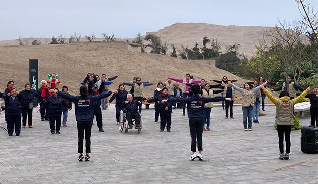 【スポーツ庁委託事業】ペルーにおけるラジオ体操の国際展開 29