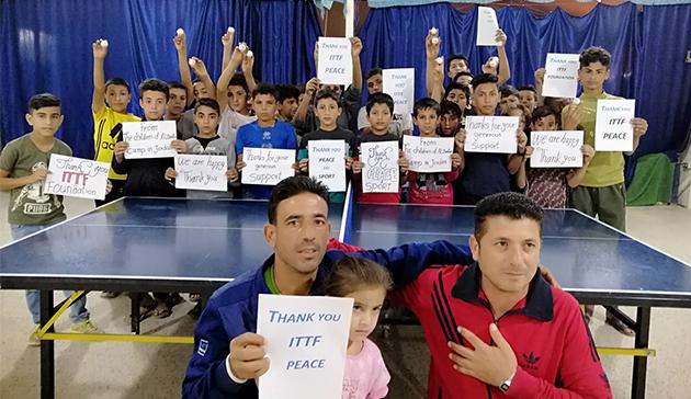 ITTF-ニッタクドリームビルディング難民支援プロジェクト2