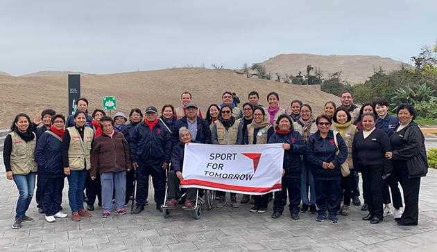 【スポーツ庁委託事業】ペルーにおけるラジオ体操の国際展開 210