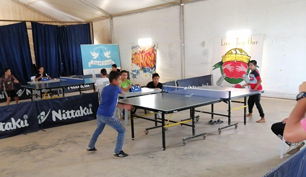 ITTF-ニッタクドリームビルディング難民支援プロジェクト4
