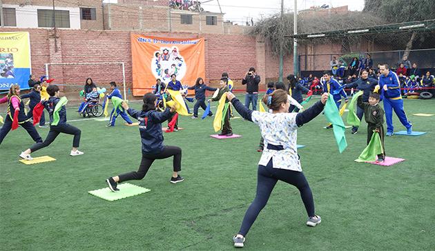 【スポーツ庁委託事業】ペルーにおけるラジオ体操の国際展開 211