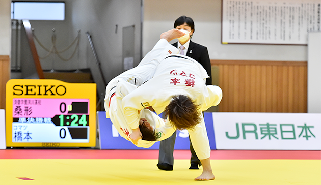 Japan Sports Agency Commissioned Project: JSC-JOC-NF Collaborative Online Judo Project – Internet Delivery of Archived Video of the All-Japan Judo Championship and the Empress Cup of the All-Japan Women's Judo Championship3