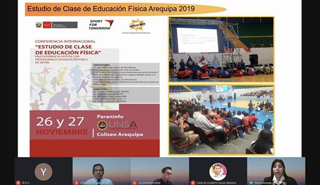 オンラインイベント 「第3回日・ペルー授業研究研修会 ~ペルーの体育科教育における進捗と展望~」8
