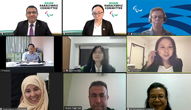 【Online】 Webinar on Women in Paralympic Sports in the Middle East and Asia hosted by IPC, APC, JPC and JSC7