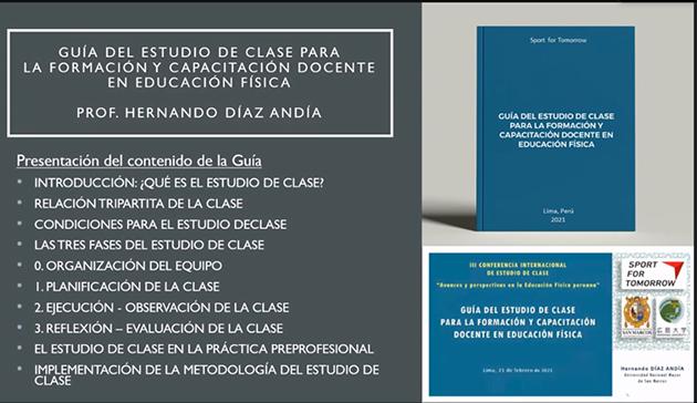 オンラインイベント 「第3回日・ペルー授業研究研修会 ~ペルーの体育科教育における進捗と展望~」10
