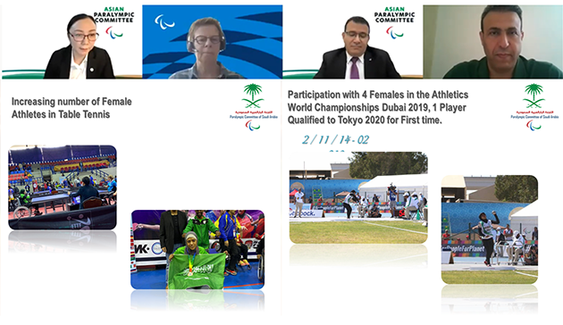 【Online】 Webinar on Women in Paralympic Sports in the Middle East and Asia hosted by IPC, APC, JPC and JSC3