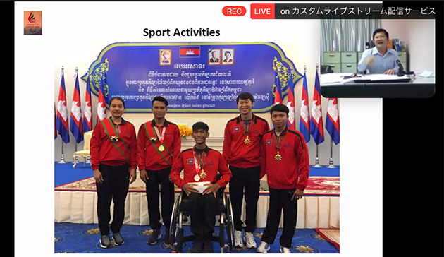 【Online】 Webinar on Women in Paralympic Sports in the Middle East and Asia hosted by IPC, APC, JPC and JSC5