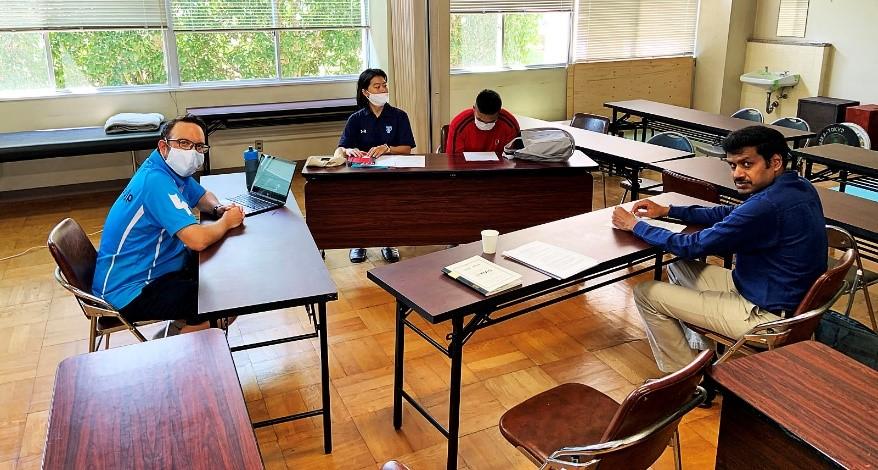 Japan Cricket Association (JCA) × TIAS August 5th- NETWORKING: TIAS 5th Batch Students at Global Sport Innovation Building (GSI), TAIIKU-UT4